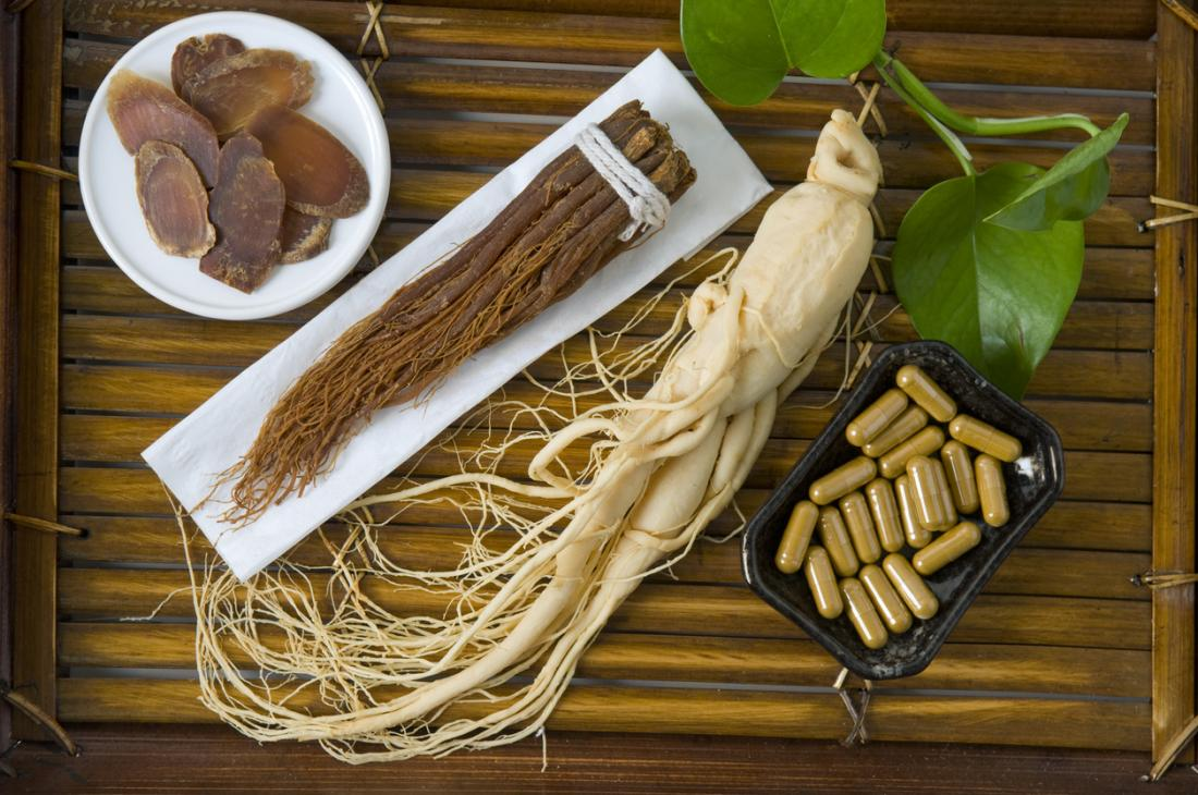 ginseng in various forms