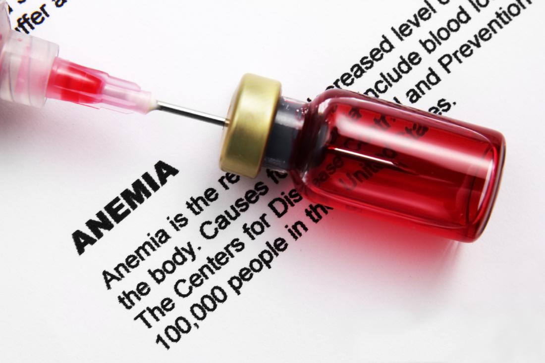 When there are not enough healthy red blood cells or hemoglobin present in the body, this is called anemia.