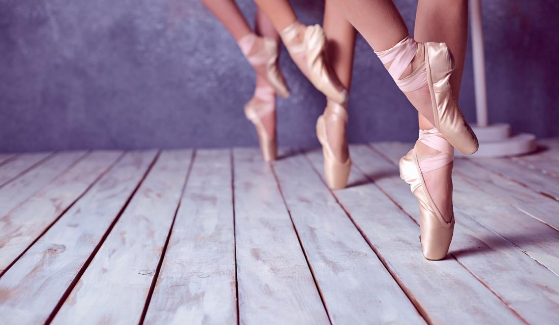 ballerinas feet