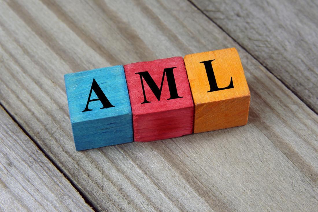 colored blocks spelling aml
