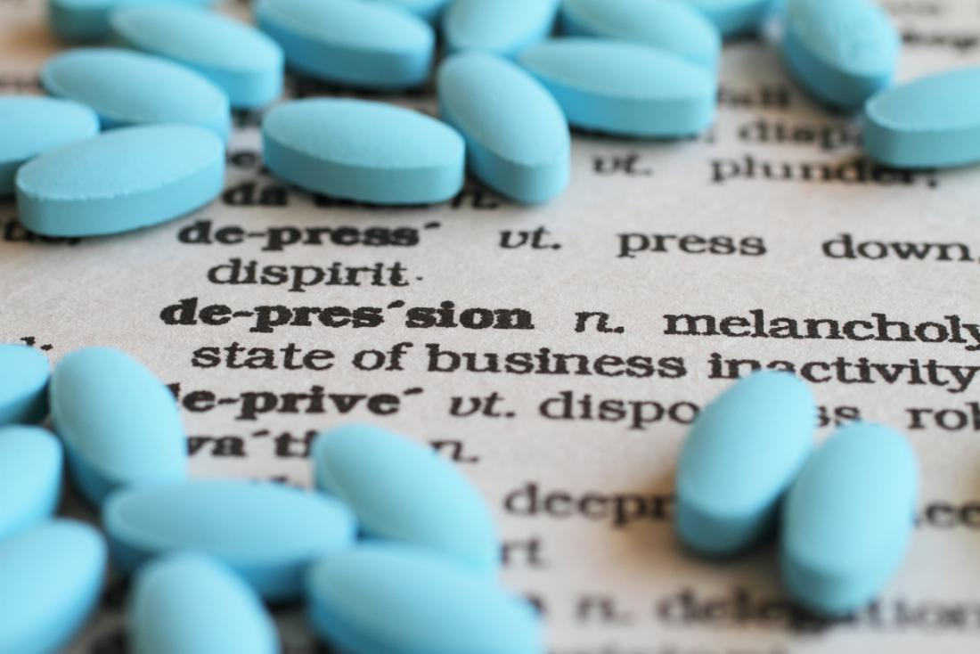 depression definition with antidepressants