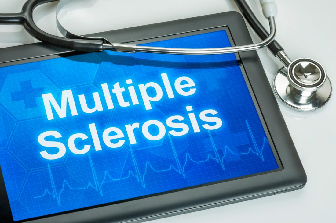 multiple sclerosis on a tablet