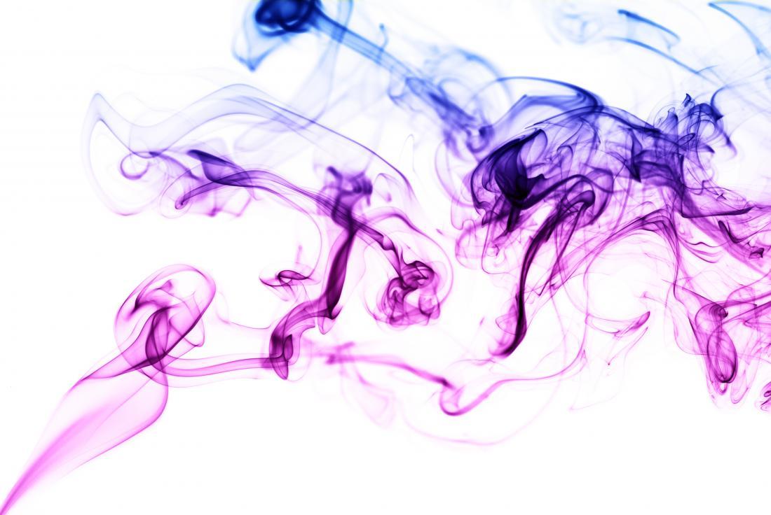 Image abstraite de fumée