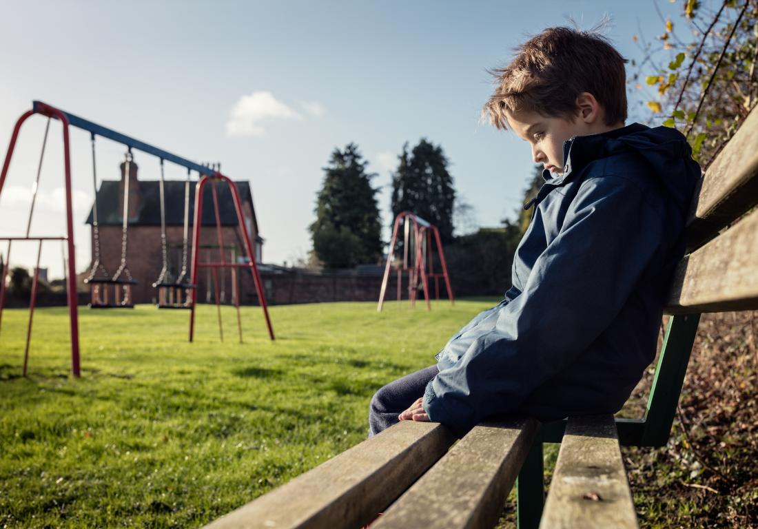 Researchers say that childhood bullying can lead to symptoms of anxiety, depression, and psychotic-like experiences, but that they seem to dissipate over time.