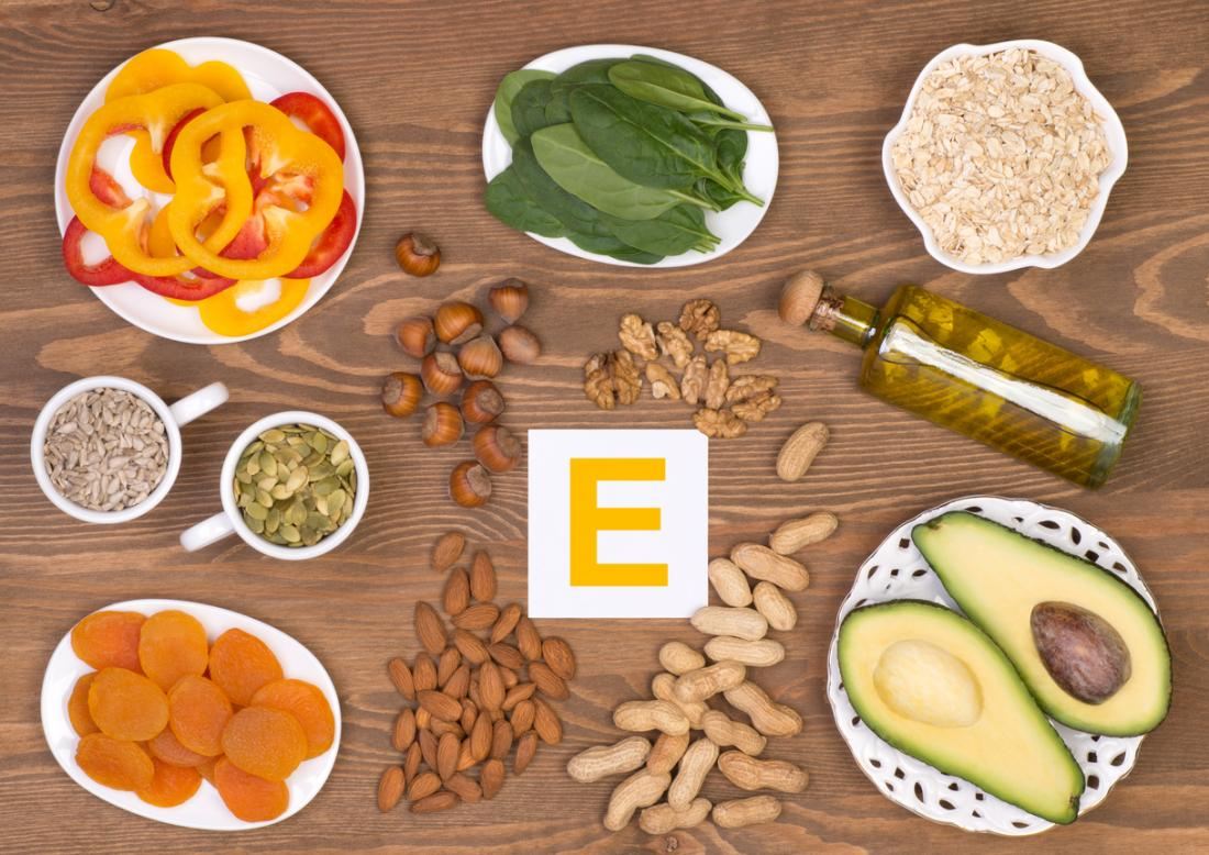 Foods containing vitamin E