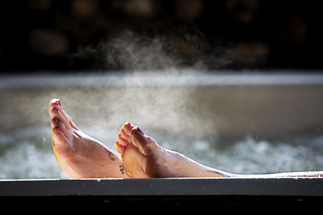 뜨거운목욕