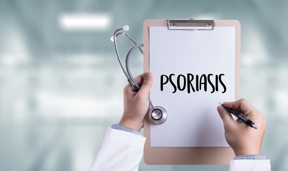 psoriasis on clipboard