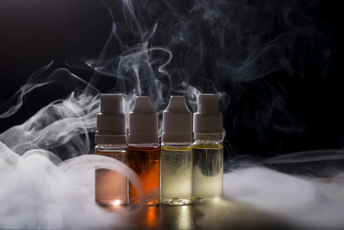 ecigarette liquids and vapor