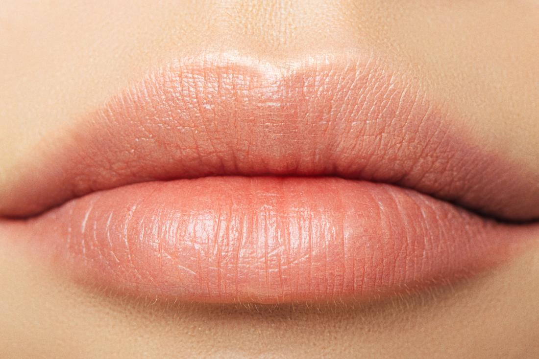 close up of womens lips