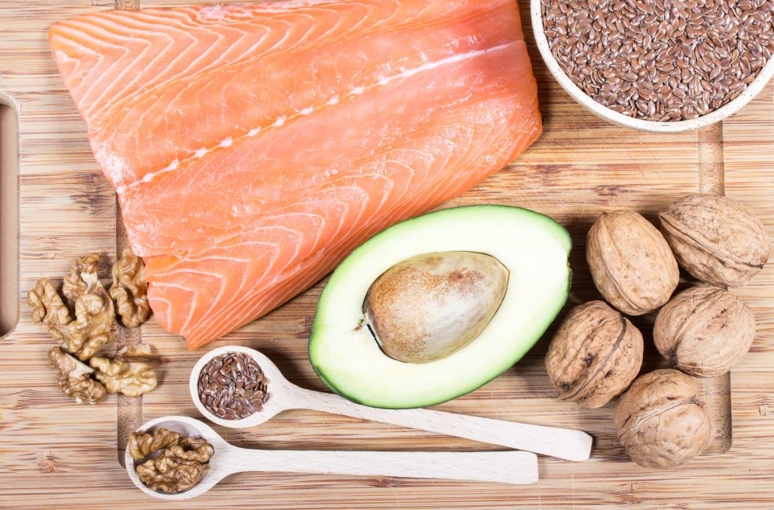 a selection of food rich in vitamin B7