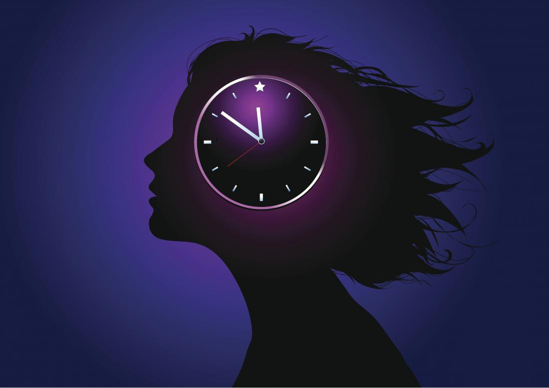 illustration depicting the body clock