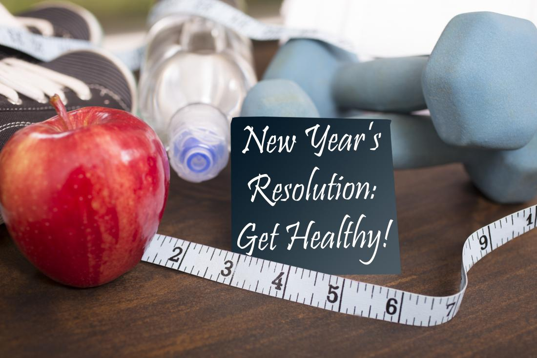 New years resolution for healthy lifestyle