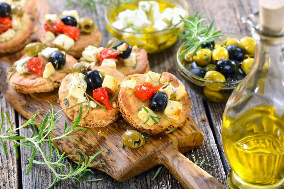 example of the mediterranean diet
