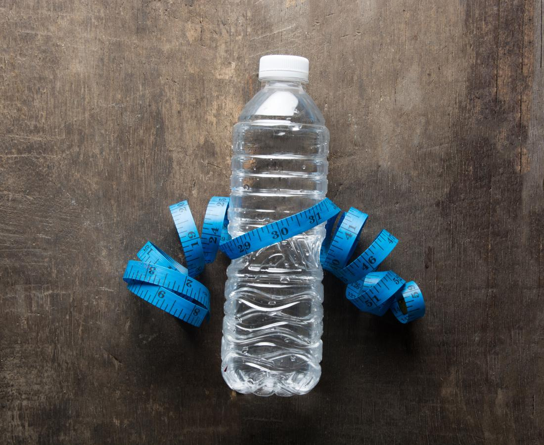 easy way to lose water weight fast