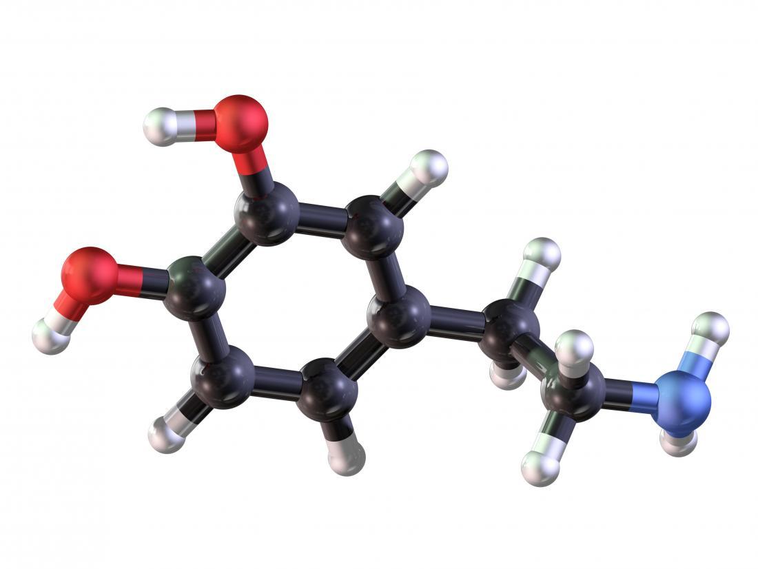 Dopamine model 3D render.