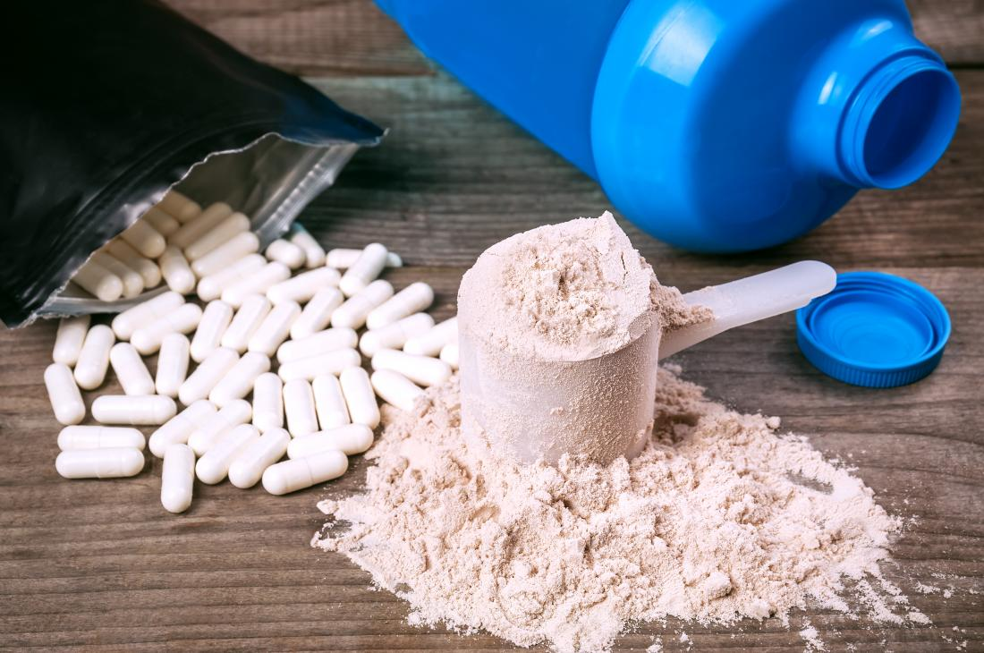 Weight loss and diet protein powder and supplements.
