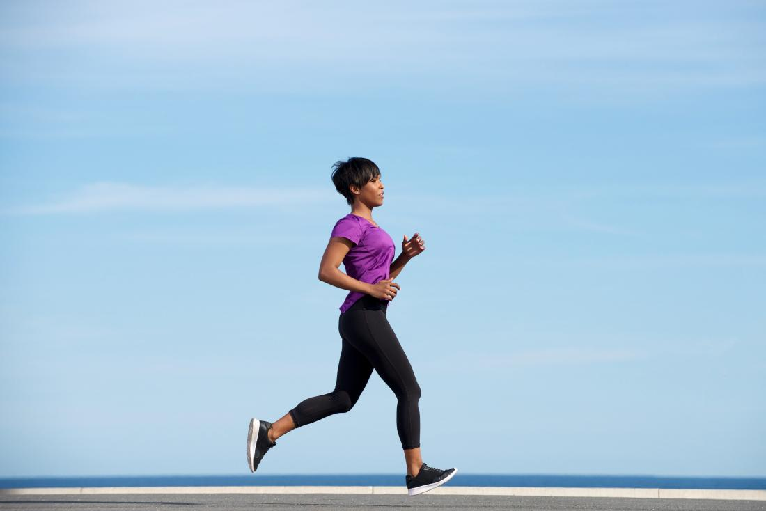 running may help control racing thoughts