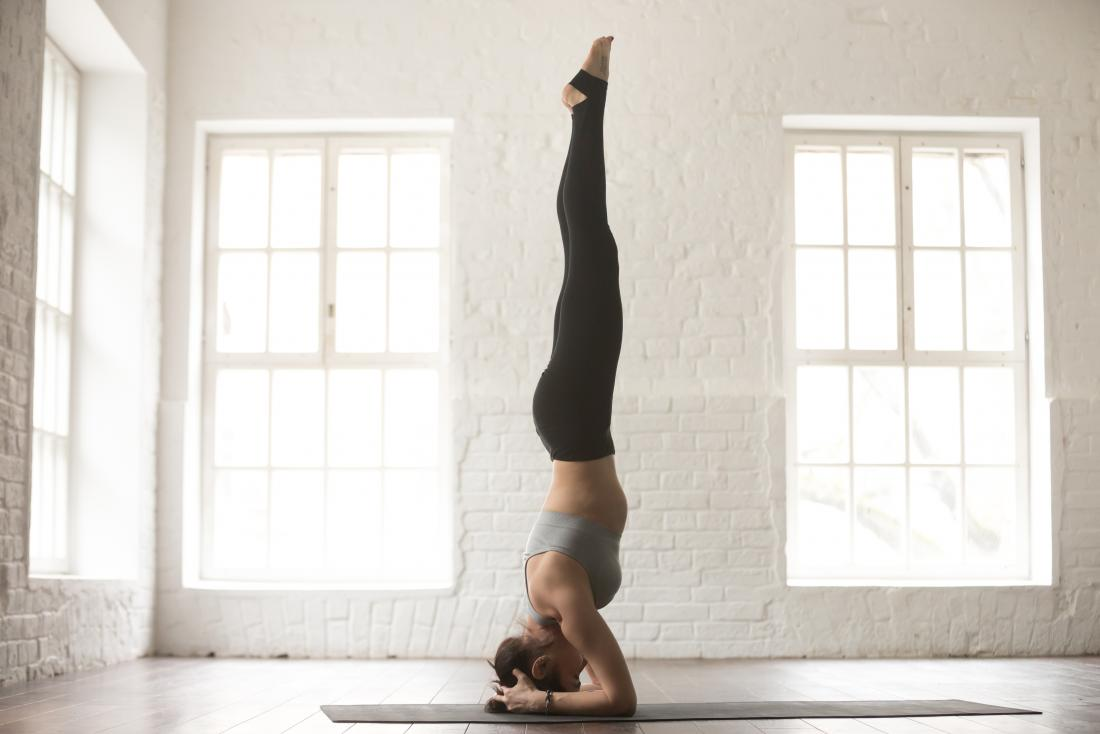 yoga for thyroid - headstand