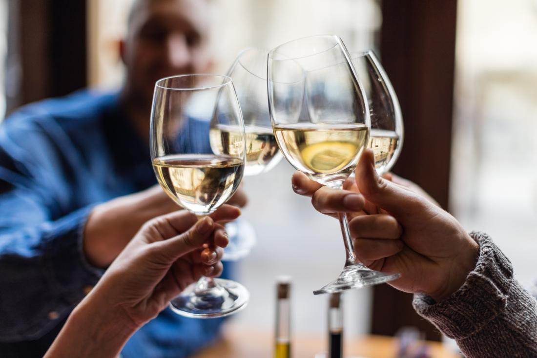 Drinking alcohol can clear brain waste, study finds
