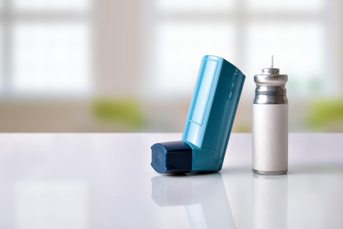 Asthma inhaler and cartridge with expiration date