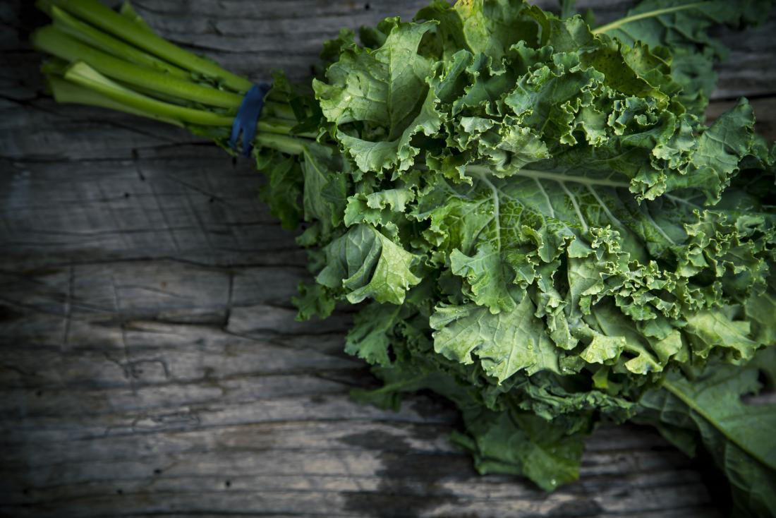 Kale which may be used for Hashimoto diet