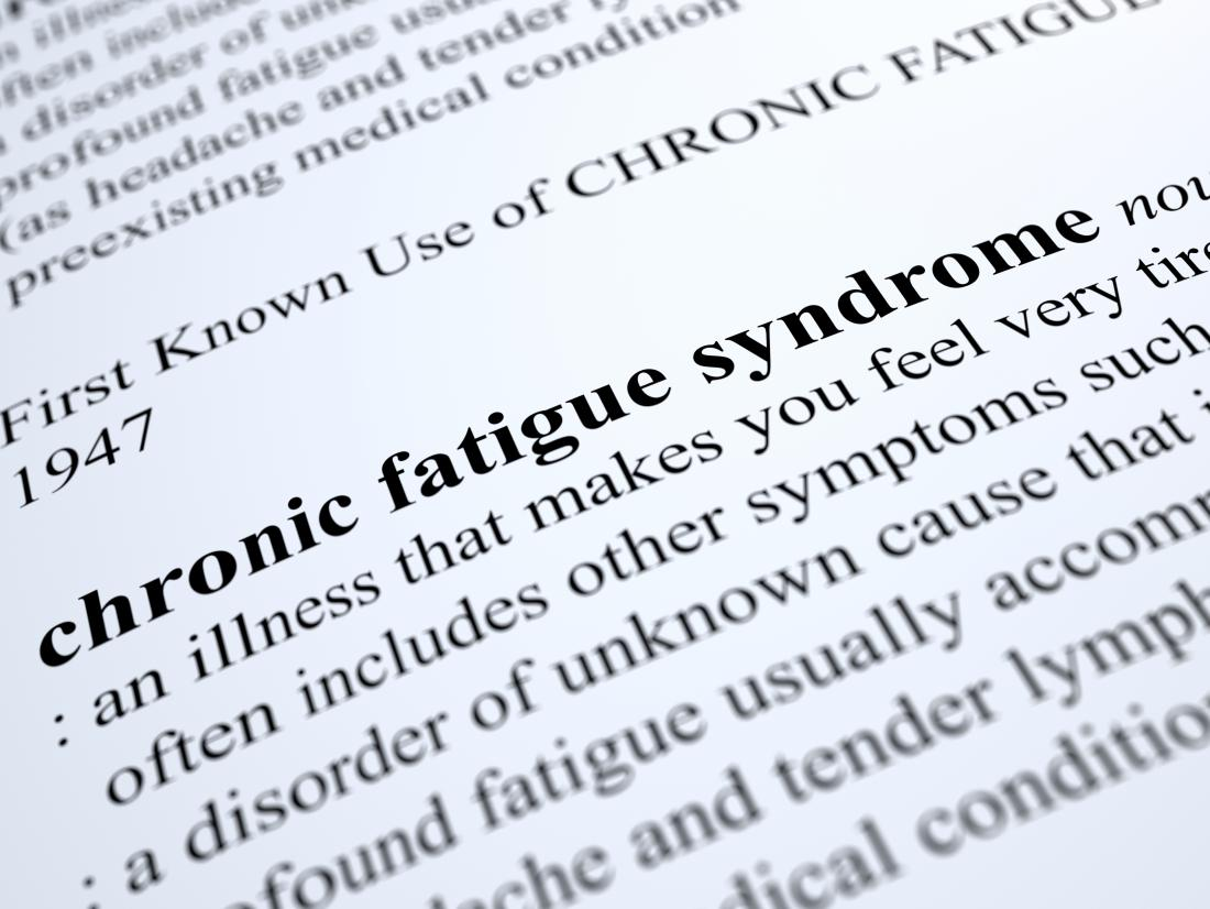 definition of chronic fatigue syndrome
