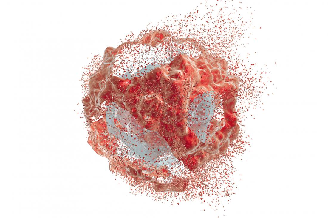 Destruction of a cancer cell