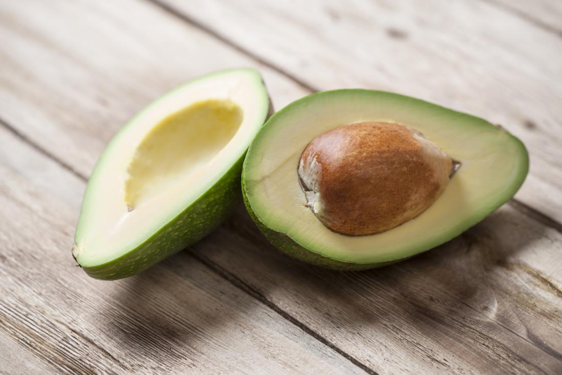 avocado on a table which is part of the soft food diet