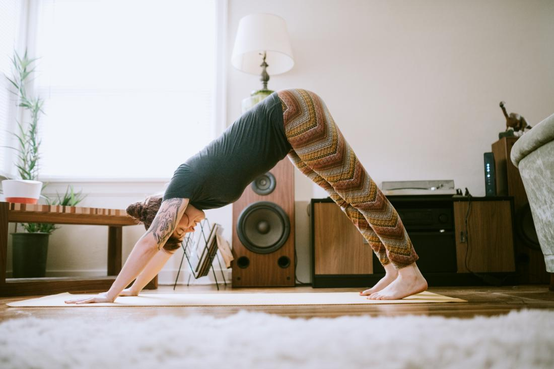 How to get rid of gas pain yoga