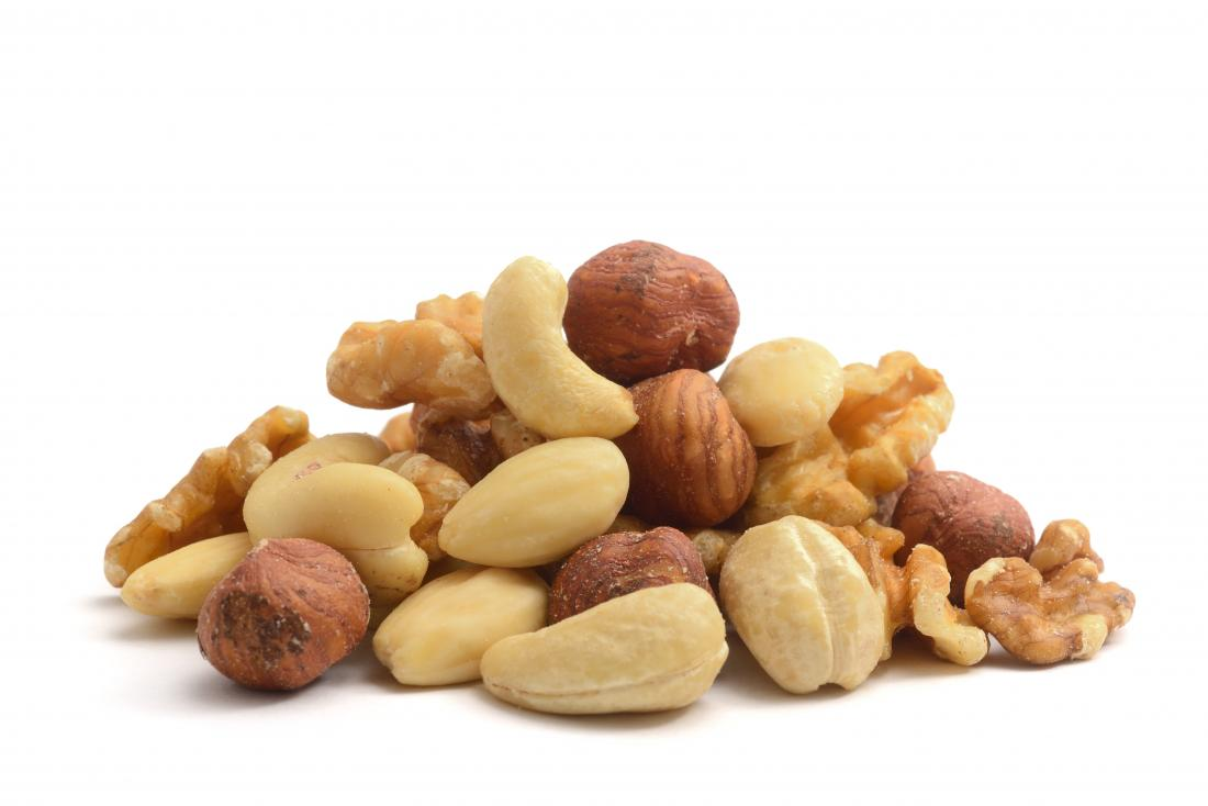 Small pile of nuts