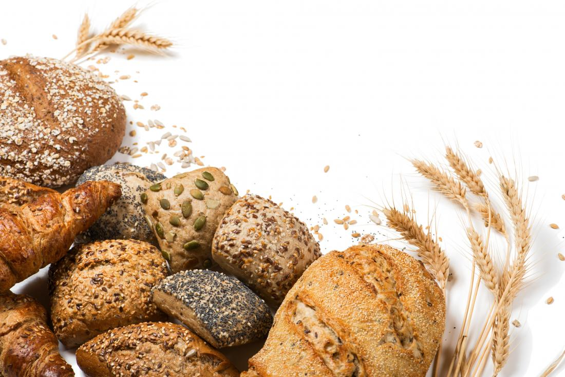 Weight gain foods wholegrain bread