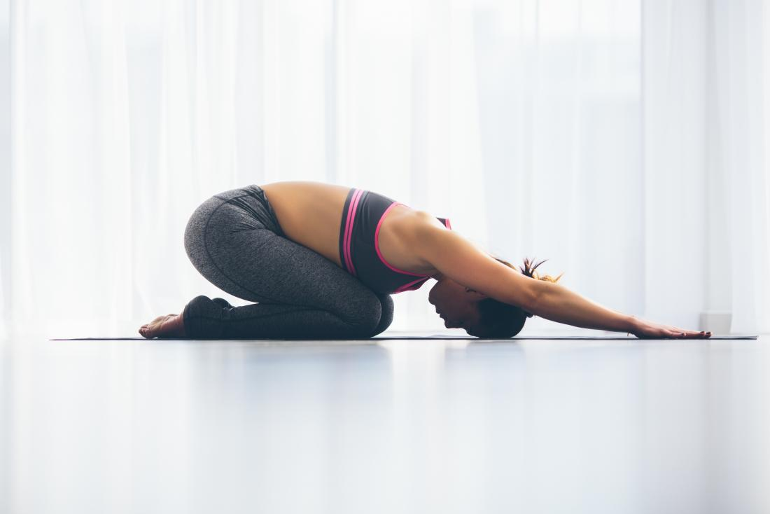 Yoga Positions Relieve Gas