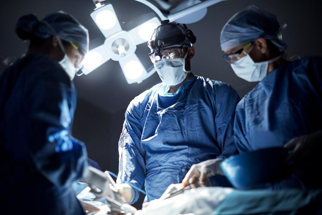 surgeons in the operating theater