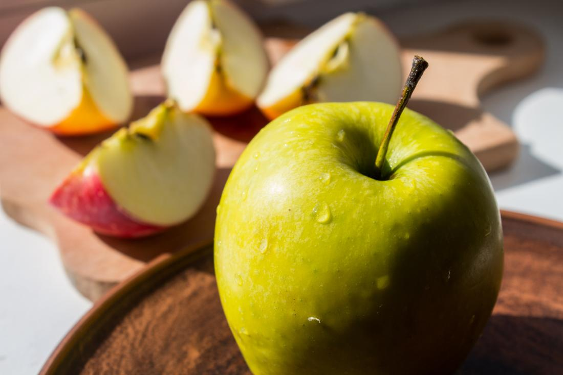 Apples are a low potassium snack, good for those looking to avoid high potassium foods