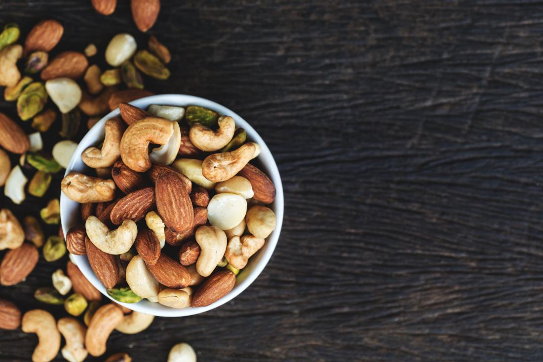 Nuts are a high potassium foods to avoid if you have CKD
