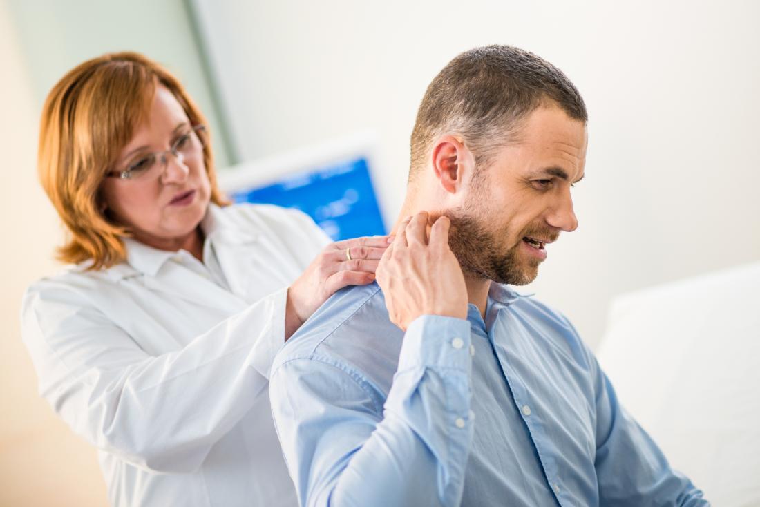 black neck causes symptoms