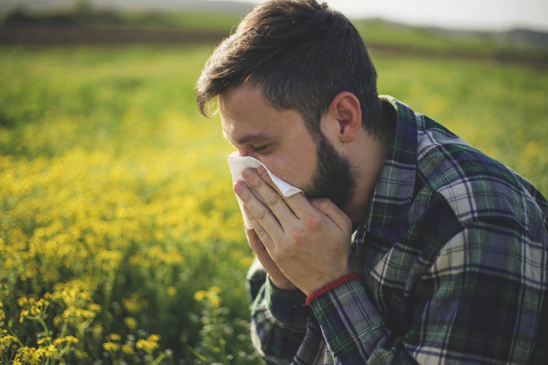 The link between hay fever, anxiety, and depression
