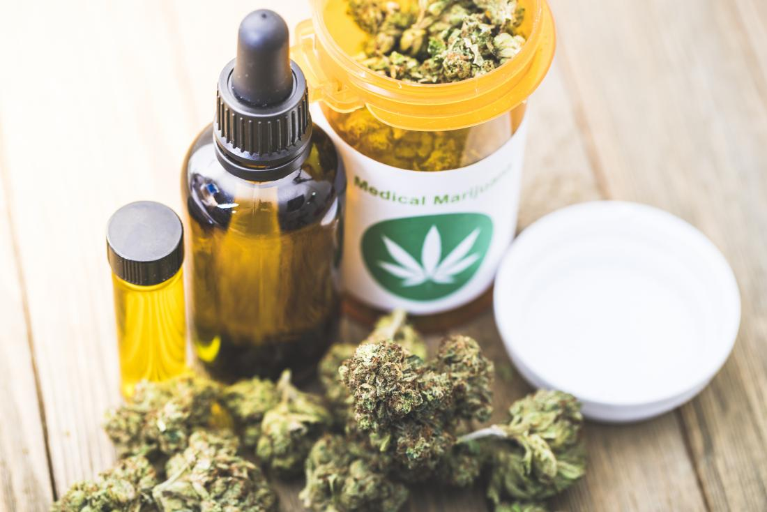 medical marijuana in various forms
