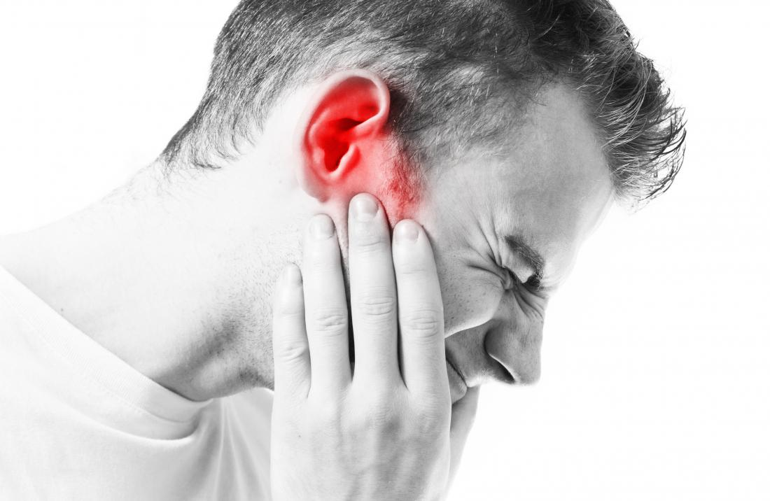 Pain in ear when swallowing