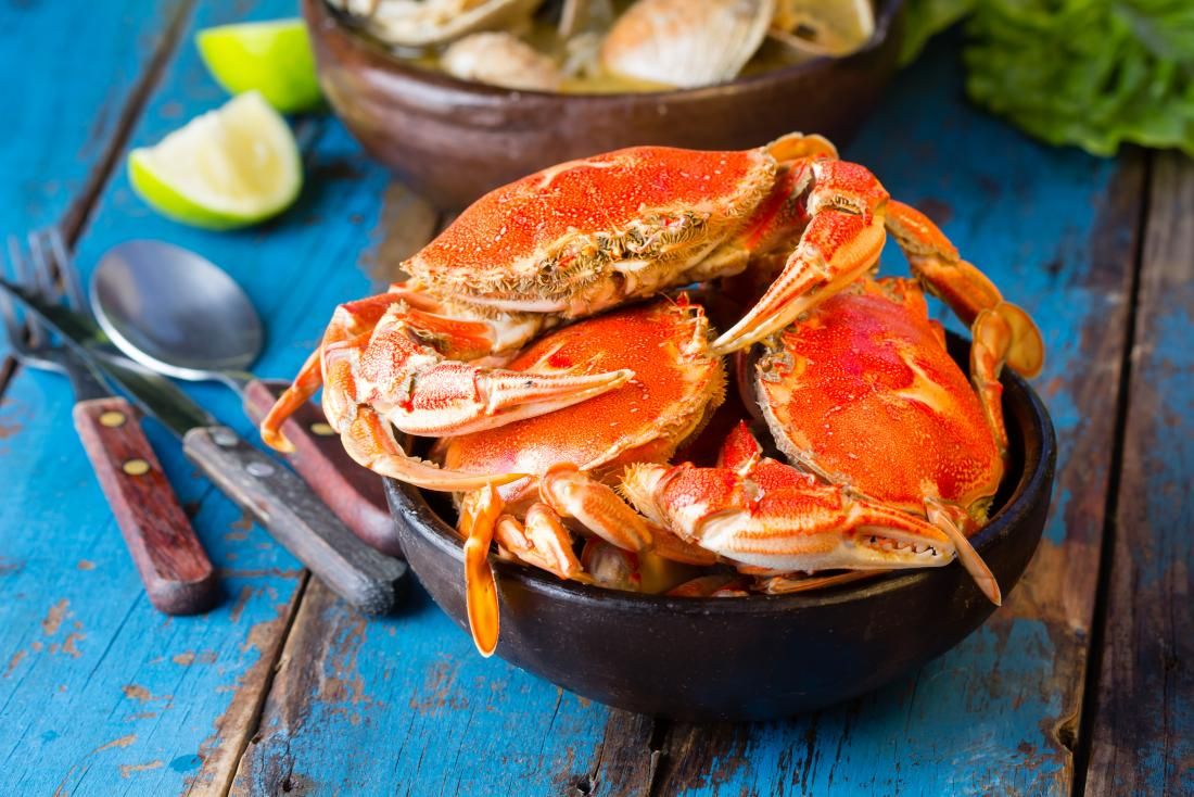 can you eat crab when pregnant