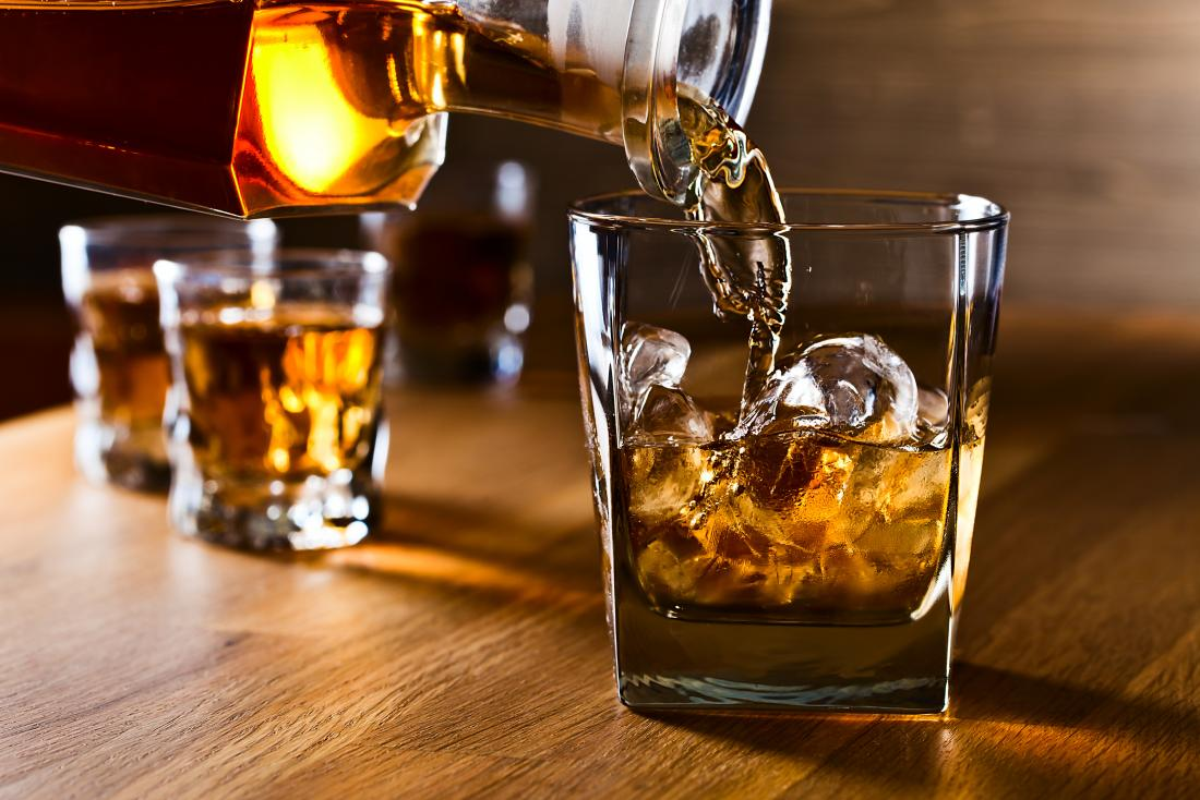 ways to prevent a hangover - avoid congeners like whisky