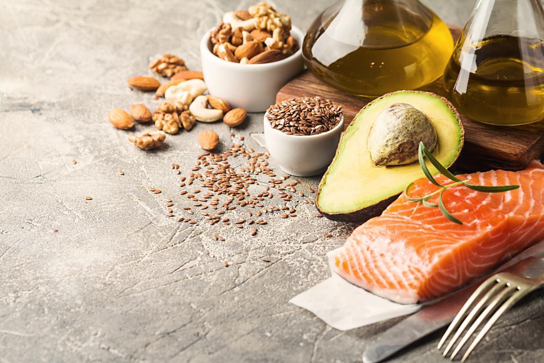 Aliments sains riches en graisses