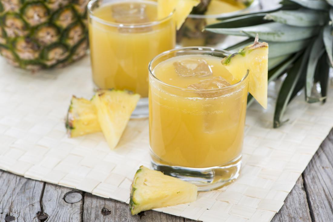 Pineapple juice.