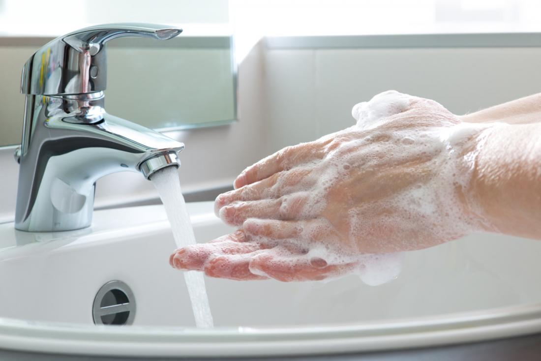Washing hands properly may help make the immune system stronger.