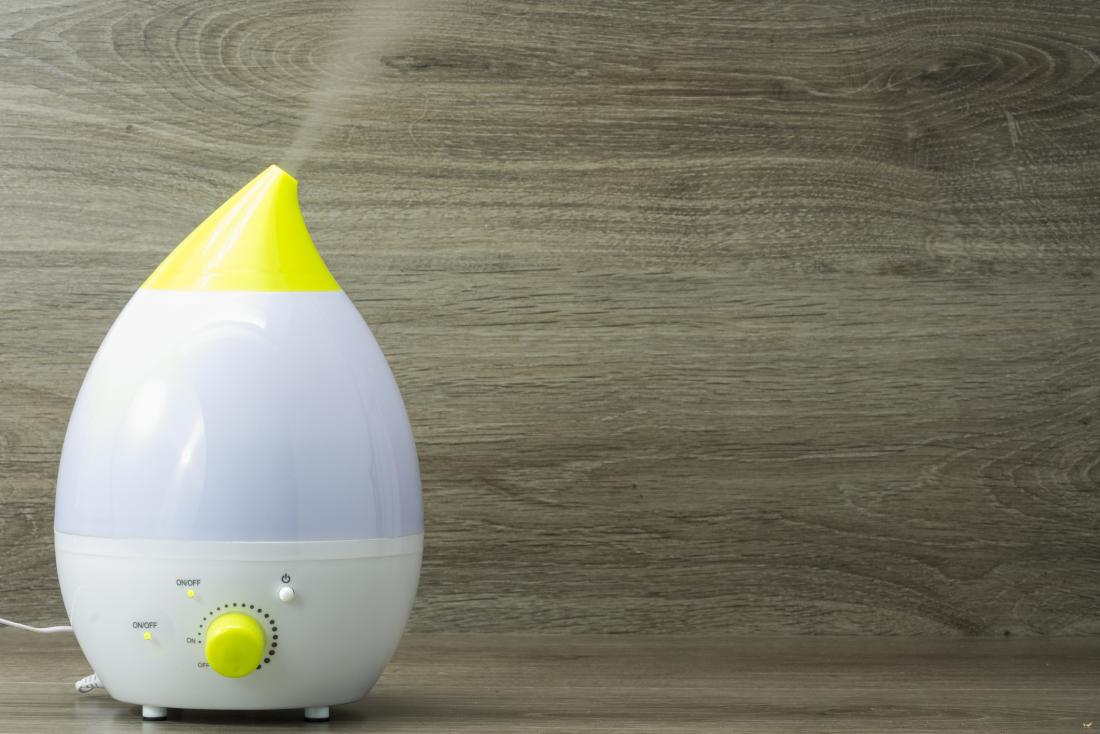 Humidifier can prevent a newborn skin peeling
