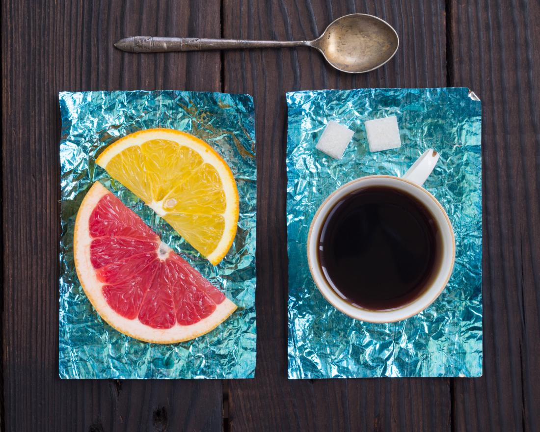 image showing coffee grapefruit and lemon