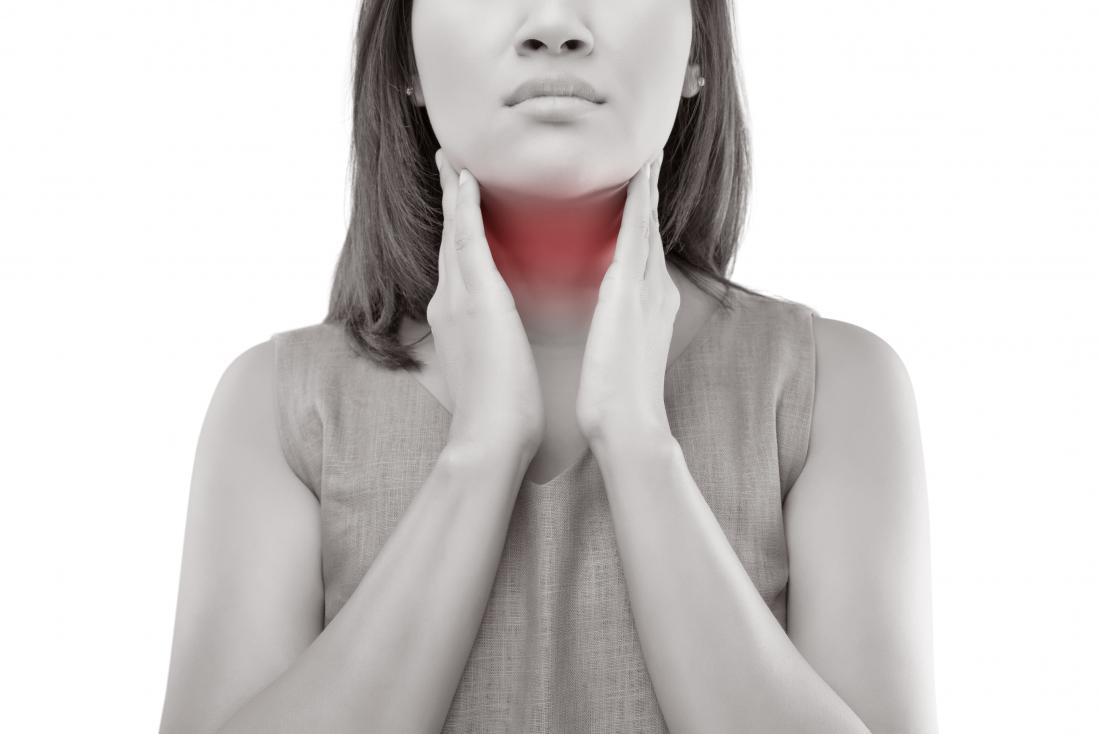 Warning signs of oral cancer in throat