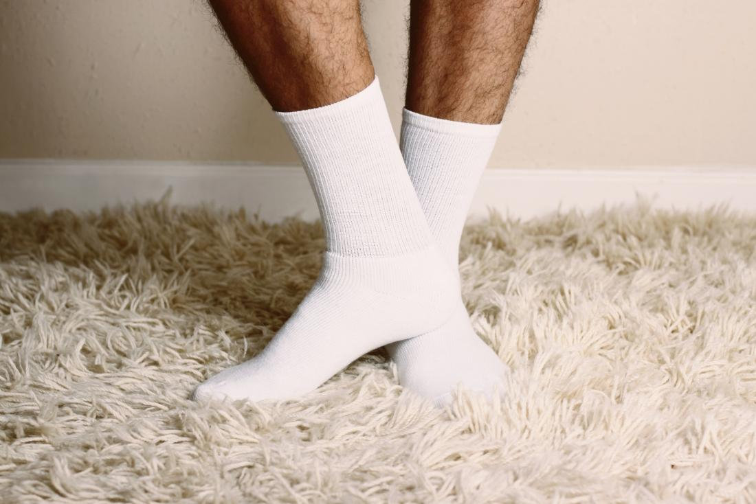 How to handle sweaty feet cotton socks
