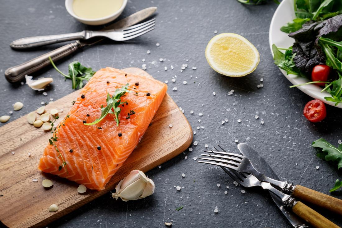 Osteoarthritis diet salmon