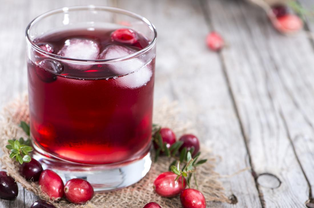 cranberry juice benefits and side effects